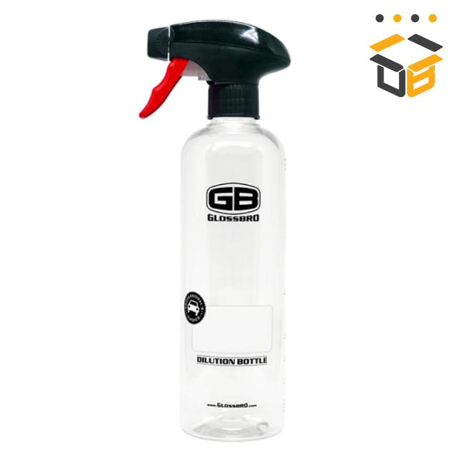 글로스브로 소분용기 스프레이 샴푸캡 500ml