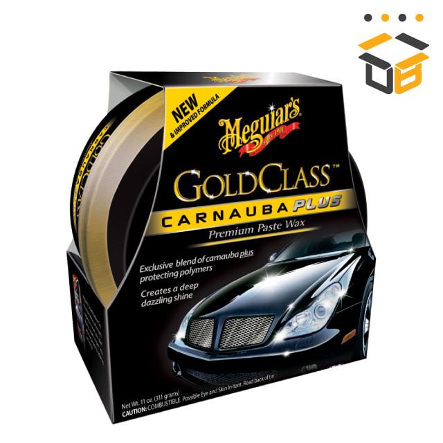 맥과이어스 골드클래스 카나우바 플러스 왁스 고체 311g G7014J
