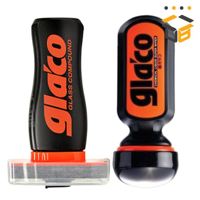 소프트99 글라코 막대형 유막제거제 + 불소피막 유리발수 코팅제 (G-19)세트