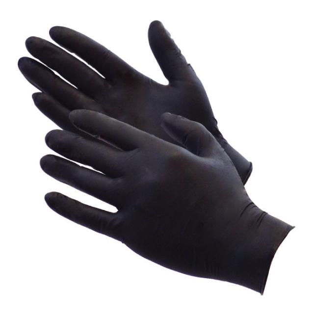 블랙에이블 니트릴장갑 라텍스장갑 100매 일회용 요리 미용 세차 장갑