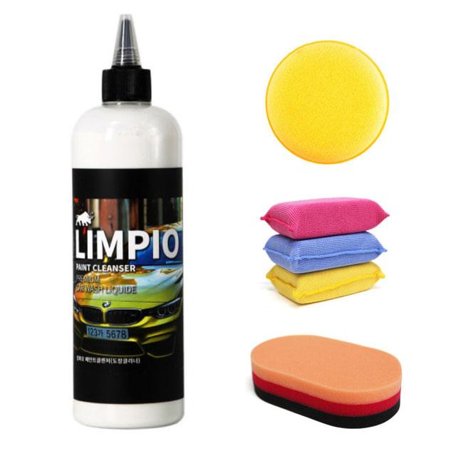 림피오 페인트클렌저 도장크리너 페클 탈지제 500ml+어플리케이터