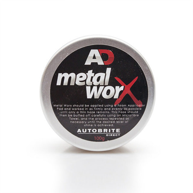 AD 오토브라이트 메탈 폴리셔 메탈웍스 100g 메탈 크롬 금속 광택제