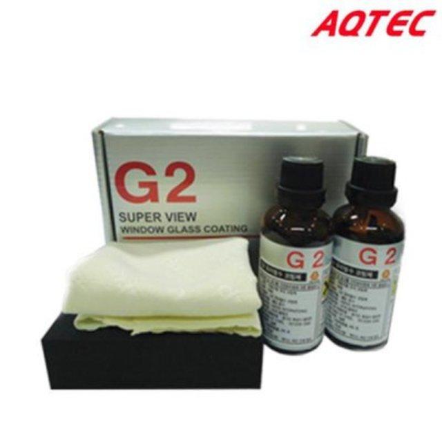 아큐텍 G2 유리발수코팅제 45ml 2개입